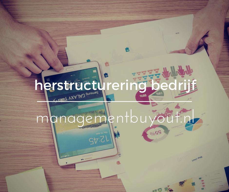 Herstructurering bedrijf