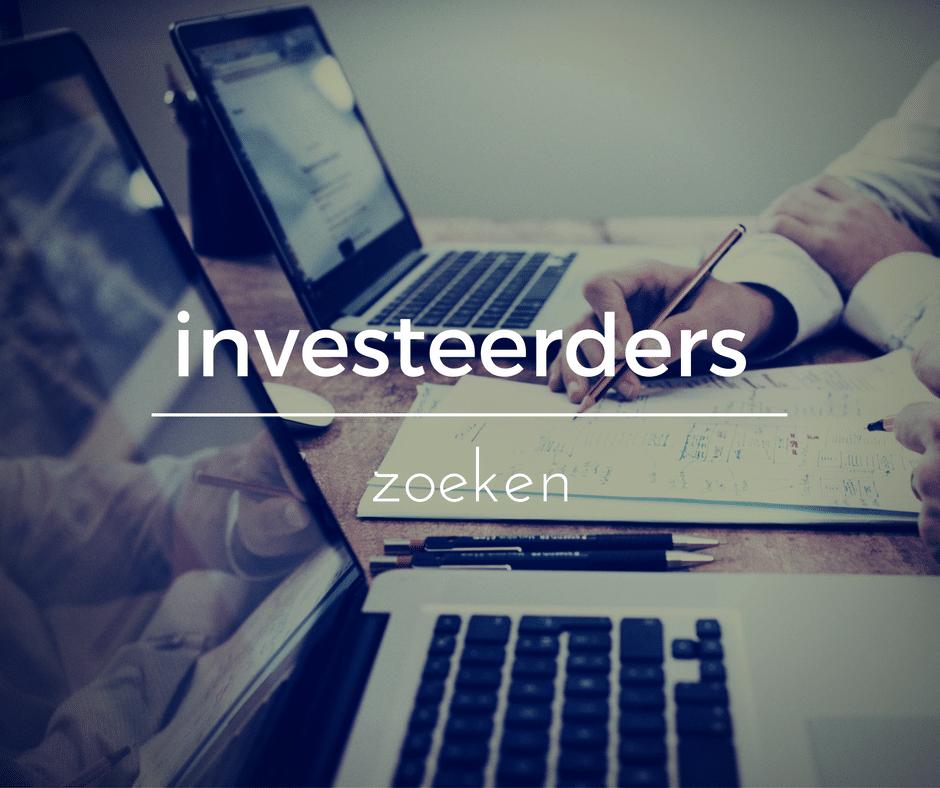 Investeerders zoeken