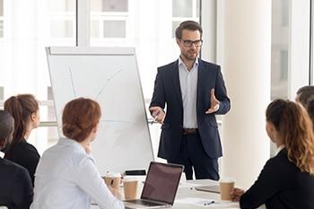 Presentatie geven om Investeerders te zoeken
